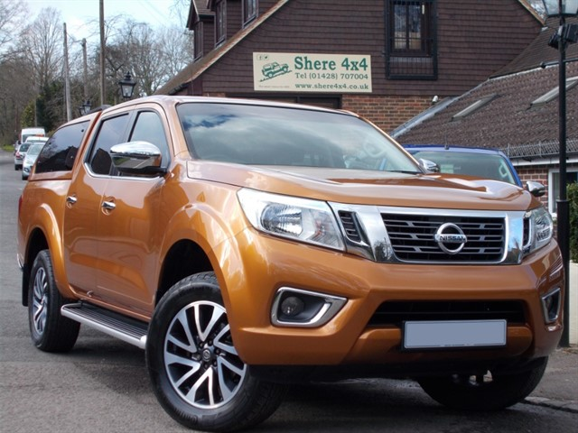 used Nissan Navara NP300 2.3 DCI N-CONNECTA - WITH HARDTOP - NO VAT in surrey-sussex