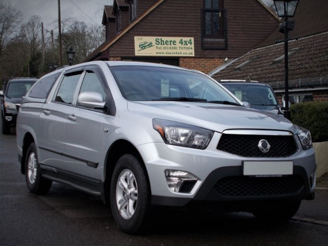 used Ssangyong Korando Sport 2.0 TD SX Doublecab  in surrey-sussex