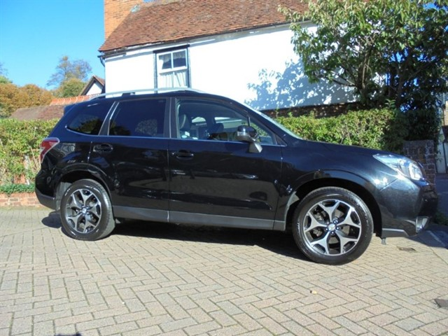 used Subaru Forester I XT Leather Sat/nav FSSH in surrey-sussex