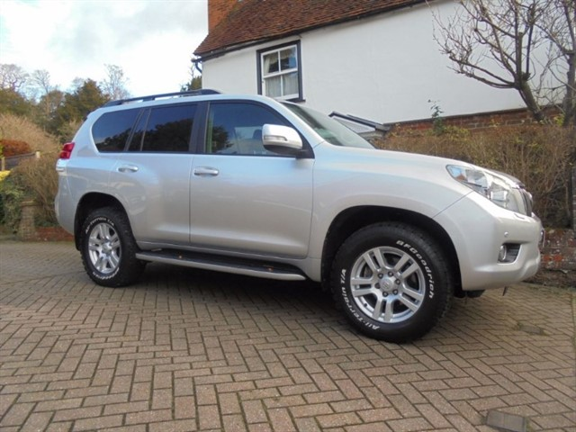 used Toyota Land Cruiser D-4D LC4 Sat/nav-cool box-7 seats in surrey-sussex