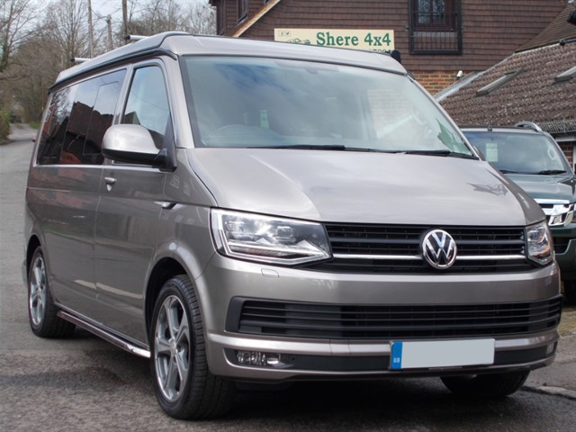 used VW Camper T6 2.0 TDi 180BHP VANWORX VW APPROVED CONVERSION in surrey-sussex