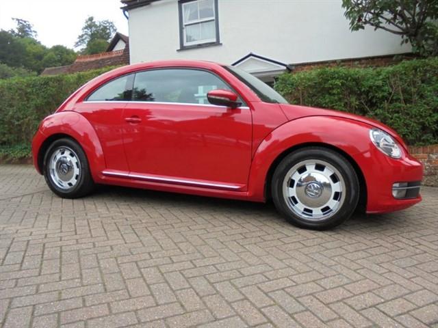 used VW Beetle DESIGN TSI DSG FENDER SOUND FVWSH in surrey-sussex