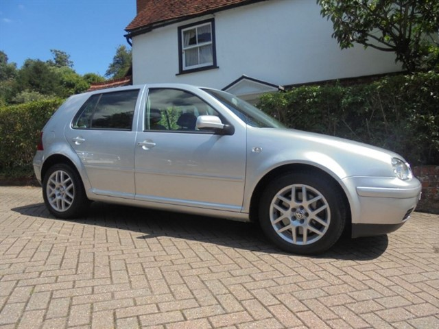 used VW Golf V5 Leather Only 37700 Miles in surrey-sussex