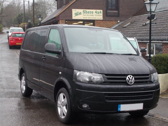 used VW Transporter 2.0 TDi T32 Highline Kombi - NO VAT - SOUNDPROOFED in surrey-sussex