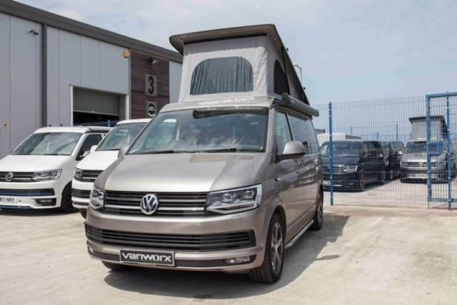 vw transportert30 2 0td 180ps t6 vanworx slipper camper conversion for sale nr guildford. Black Bedroom Furniture Sets. Home Design Ideas
