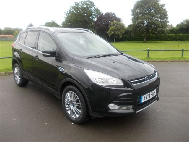 used Ford Kuga TITANIUM TDCI 2WD in in-blackwood-gwent