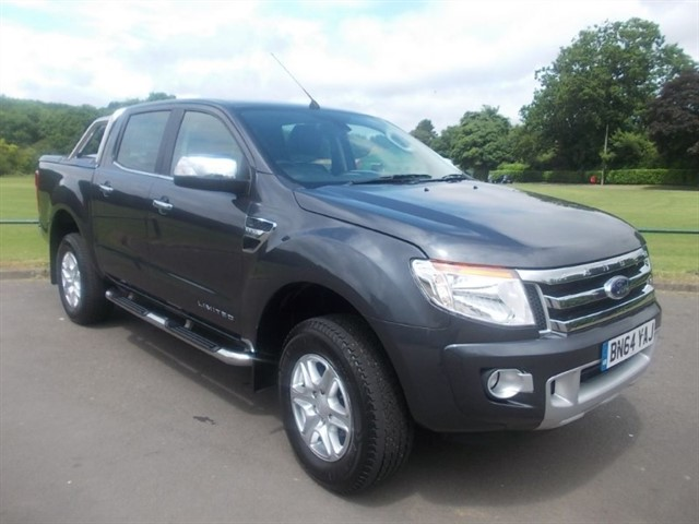 used Ford Ranger LIMITED 4X4 DCB TDCI in in-blackwood-gwent