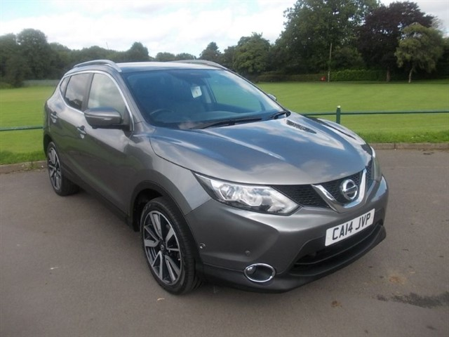 used Nissan Qashqai DCI TEKNA in in-blackwood-gwent