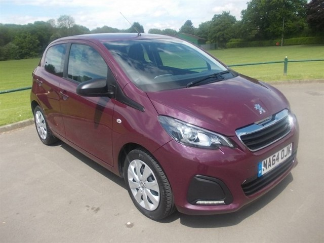 used Peugeot 108 ACTIVE in in-blackwood-gwent