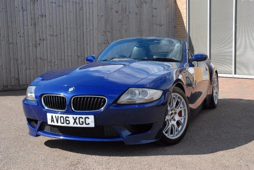 Used Blue BMW Z M For Sale Northamptonshire - Blue bmw