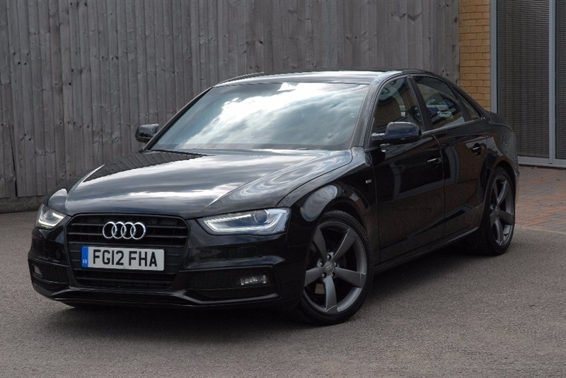 used Audi A4 TDI Black Edition 4dr in sheffield