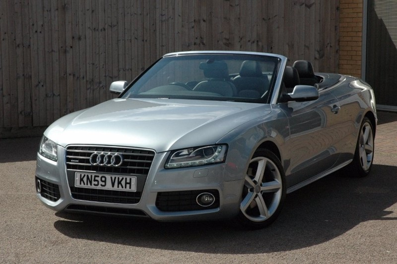 used Audi A5 Cabriolet TFSI S Line Multitronic 2dr in sheffield