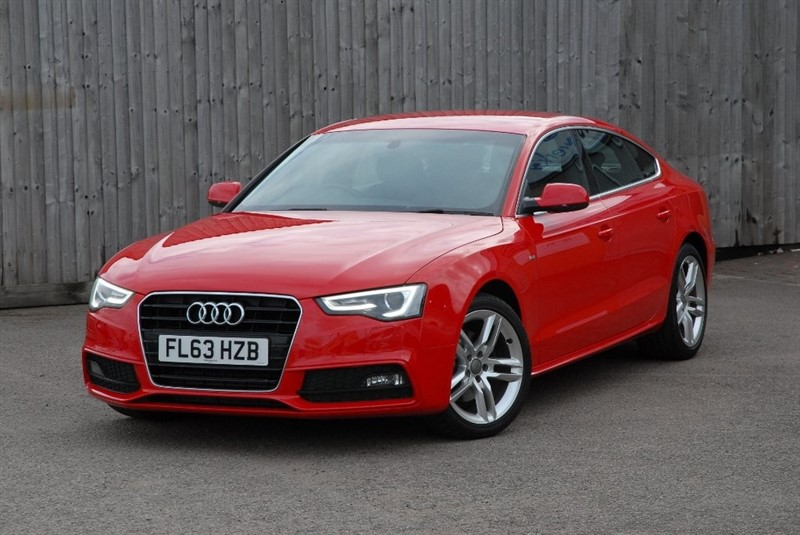 used Audi A5 TDI e S line Sportback 5dr in sheffield