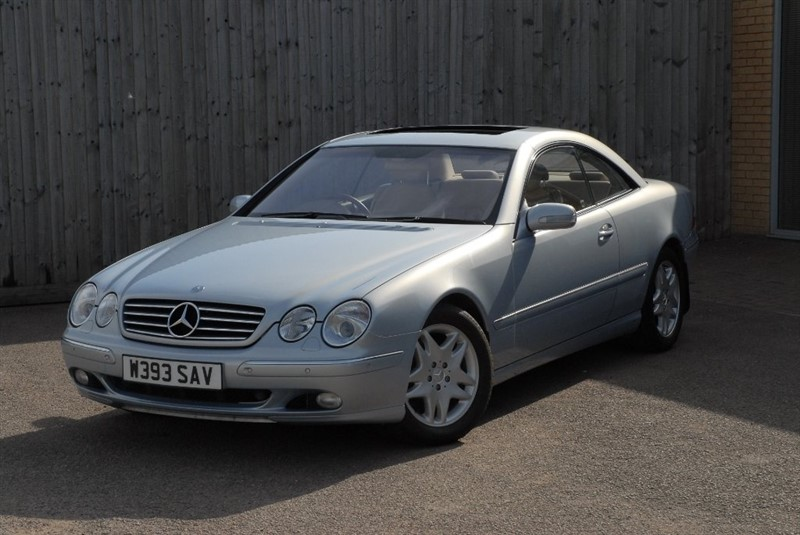 used Mercedes CL500 CL 2dr in sheffield