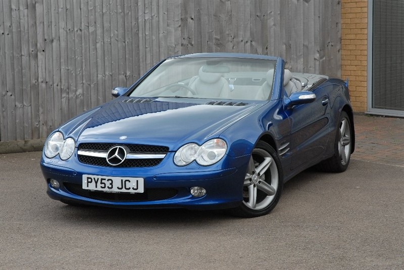 used Mercedes SL Class SL350 2dr in sheffield
