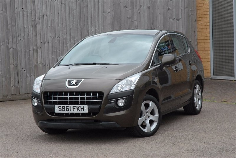 used Peugeot 3008 1.6 HDi FAP Sport SUV EGC 5dr in sheffield
