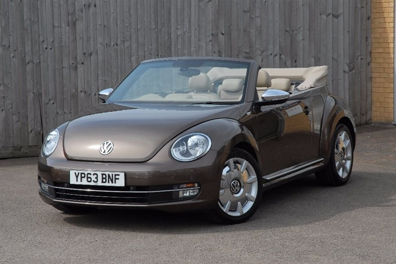 used VW Beetle TSI 70s Cabriolet 2dr in sheffield