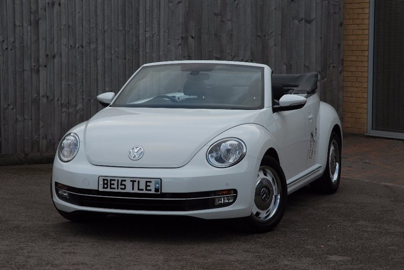 used VW Beetle TSI Design Cabriolet 2dr in sheffield