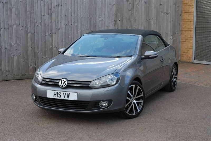 used VW Golf TSI GT Cabriolet DSG 2dr in sheffield