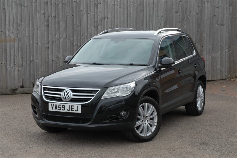 used VW Tiguan TSI Sport 4MOTION 5dr in sheffield