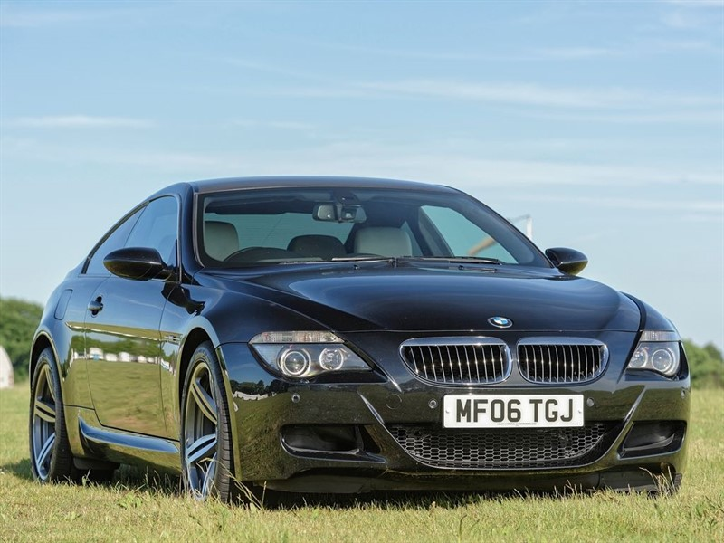 used BMW M6 5.0 V10 - 7Spd SMG in colchester-essex