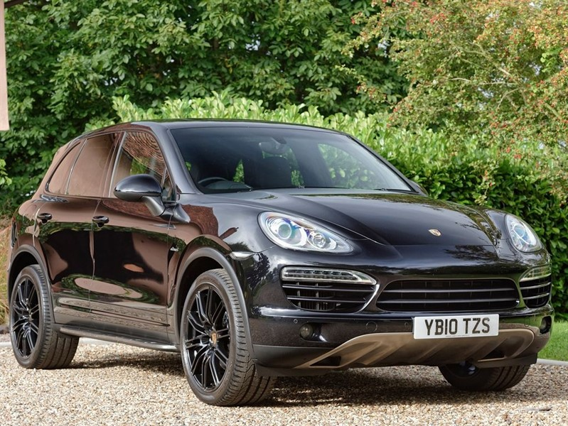 used Porsche Cayenne DIESEL V6 TIPTRONIC S in colchester-essex
