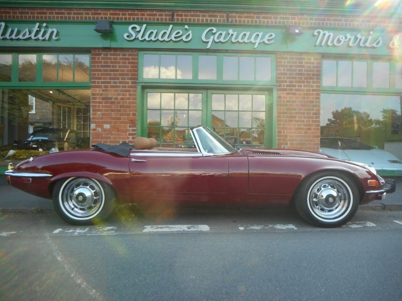 used Jaguar E-Type 5.3 V12 Roadster LHD in penn-buckinghamshire