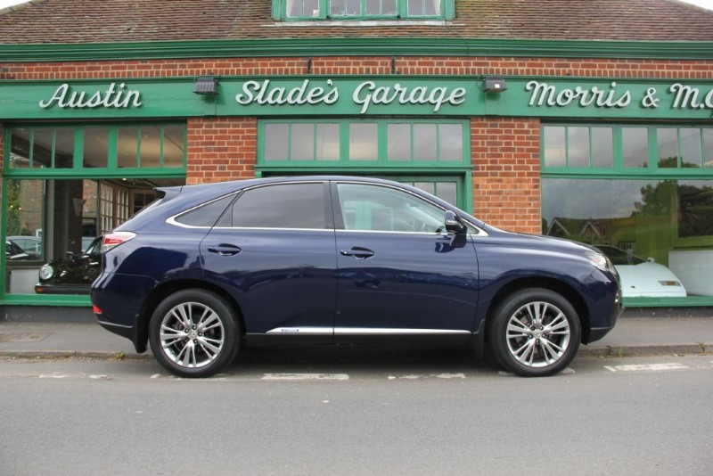 used Lexus RX 450h Luxury Sat Nav in penn-buckinghamshire