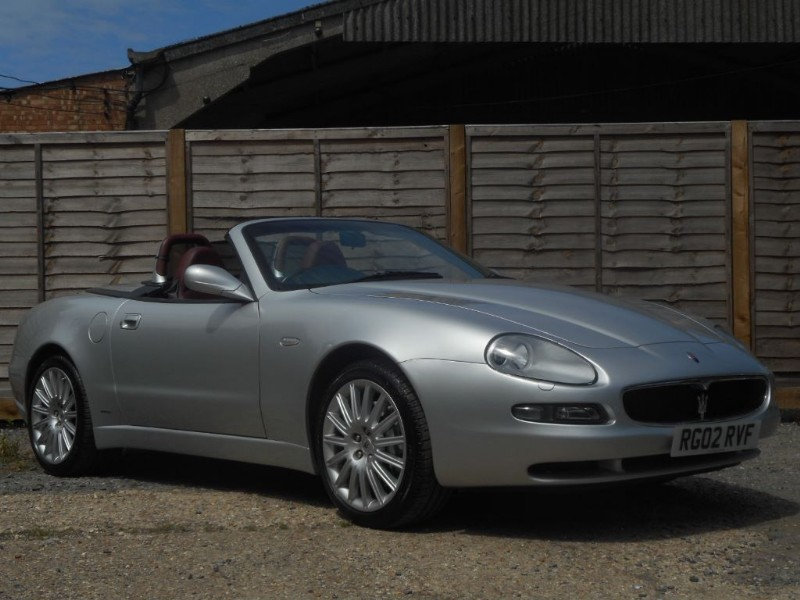 used Maserati Spyder GT Cambiocorsa Low Miles, FSH in penn-buckinghamshire