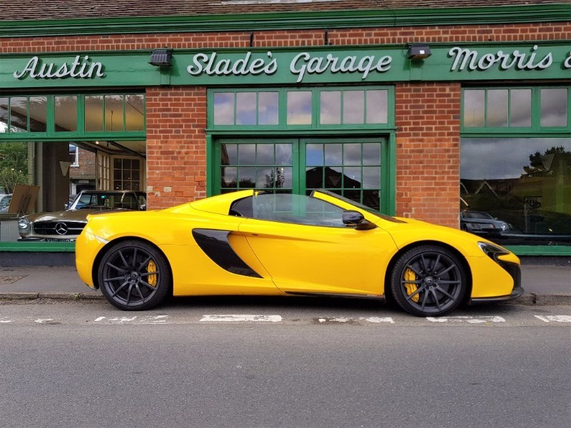 used Mclaren 650s V8 SPIDER in penn-buckinghamshire