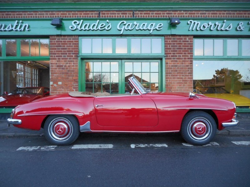 used Mercedes 190 SL Manual LHD in penn-buckinghamshire