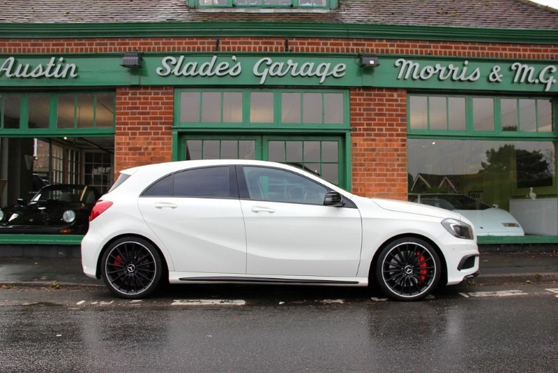 used Mercedes A45 AMG 4MATIC optional extras worth 10k in penn-buckinghamshire