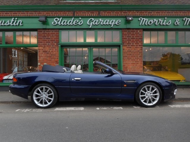 used Aston Martin DB7 V12 Vantage Volante in penn-buckinghamshire