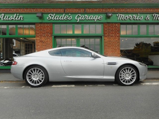 used Aston Martin DB9 V12 Coupe Manual 1 of only 5 Manual cars advertised in penn-buckinghamshire