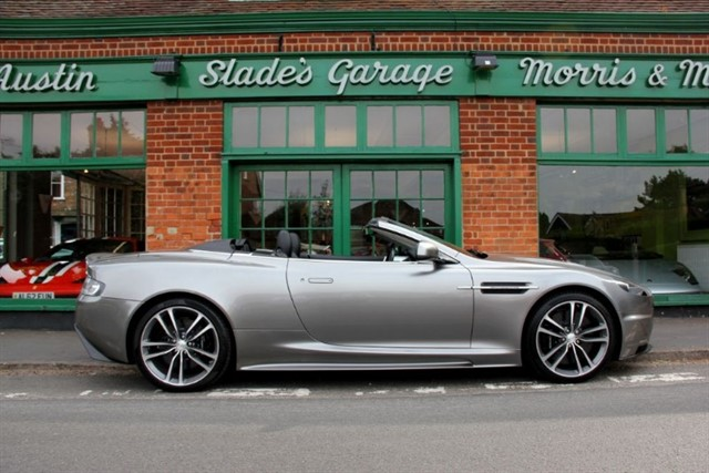 used Aston Martin DBS V12 Volante Touchtronic in penn-buckinghamshire