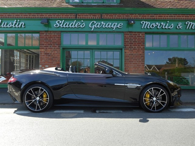 used Aston Martin Vanquish Convertible in penn-buckinghamshire