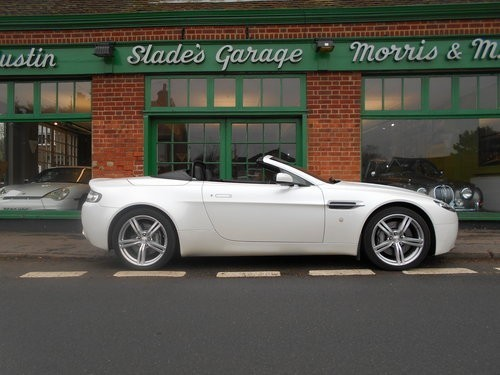 used Aston Martin Vantage V8 Roadster Sportshift in penn-buckinghamshire