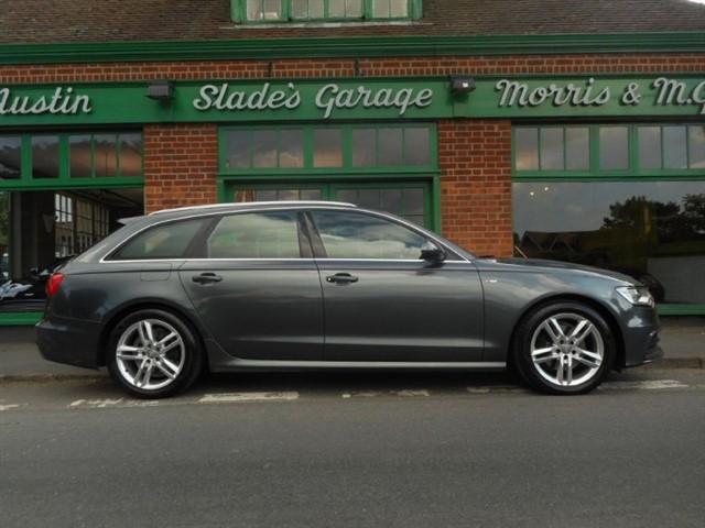used Audi A6 Avant TDI ULTRA S LINE Camera, MM+ SAT NAV in penn-buckinghamshire