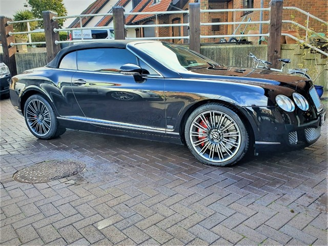 used Bentley Continental GTC Mulliner in penn-buckinghamshire