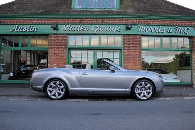 used Bentley Continental GTC 6.0 W12 in penn-buckinghamshire