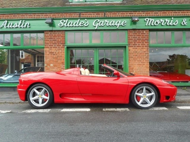 used Ferrari 360 Spider in penn-buckinghamshire