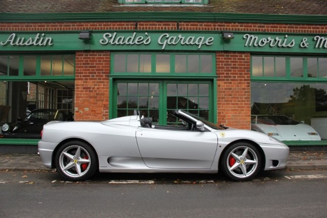 used Ferrari 360 Spider F1  in penn-buckinghamshire