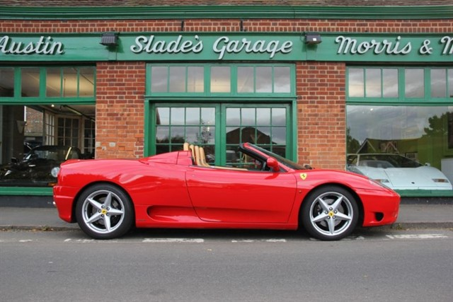used Ferrari 360 Spider Manual in penn-buckinghamshire