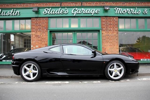 used Ferrari 360 Modena F1 RHD in penn-buckinghamshire