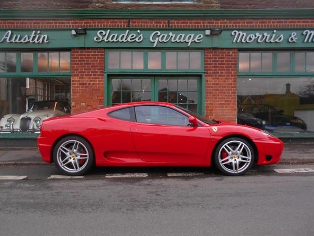 used Ferrari 360 Coupe F1 in penn-buckinghamshire