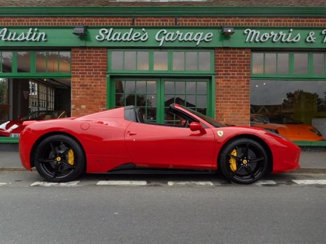 used Ferrari 458  Spider DCT in penn-buckinghamshire
