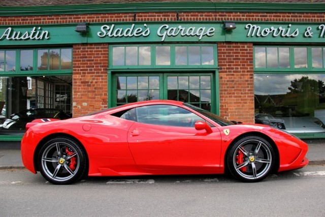 used Ferrari 458 Speciale UK RHD in penn-buckinghamshire