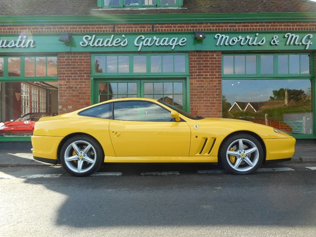 used Ferrari 575M Manual 1 of 69 UK RHD Ex Sir Rod Stewart in penn-buckinghamshire