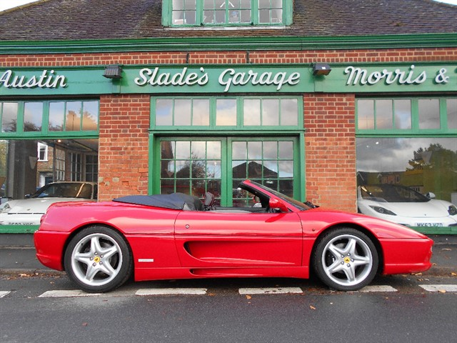 used Ferrari F355 Spider F1 RHD in penn-buckinghamshire