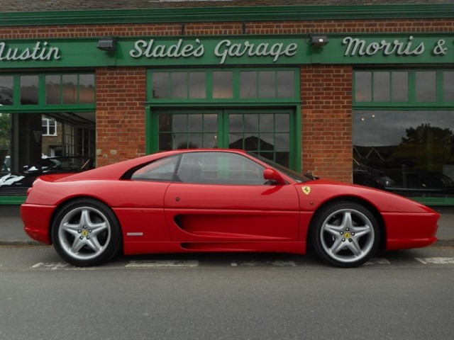 used Ferrari F355 GTB F1 Berlinetta RHD in penn-buckinghamshire